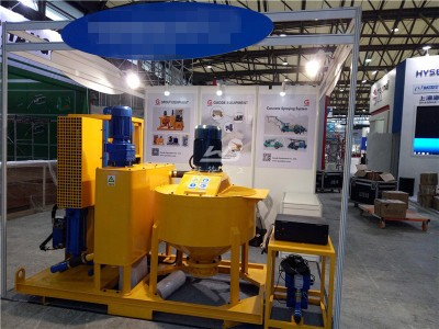 high pressure grouting unit for dam grouting