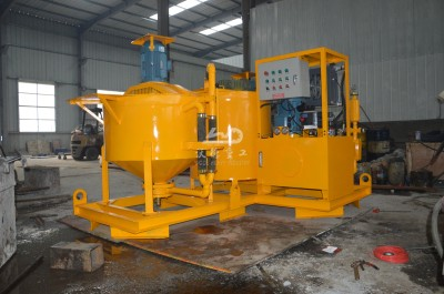 grouting unit for dam