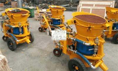 dry gunite machine for build swimming pools