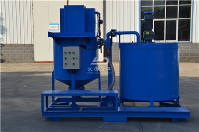 grout mixer for making cement slurry