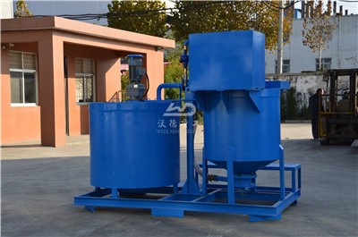 grout mixer machine for making cement slurry