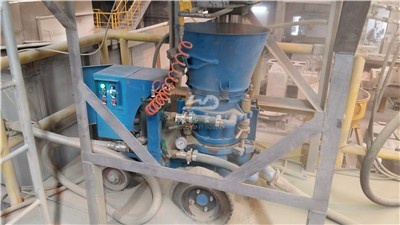 refractory machine used in Thailand