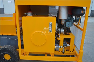 diesel engine concrete pump for sale to Indonesia