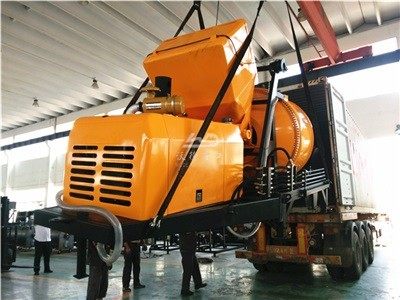small concrete pumps with mixer for sale