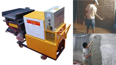 Cement Mortar Pump From China