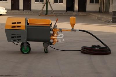 China cement mortar pump factory
