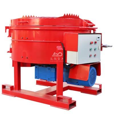refractory castable mixer machines