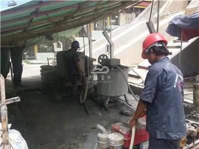 cement grout mixer machine application