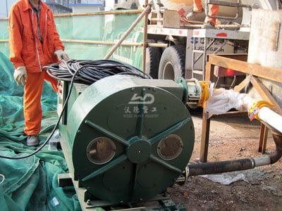 Industrial Hose  Pump Equipment Application