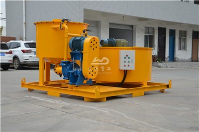 high efficiency cement grout mixers