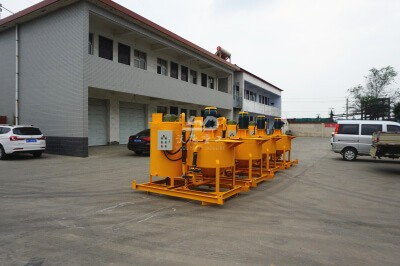 high efficiency cement grout mixers price