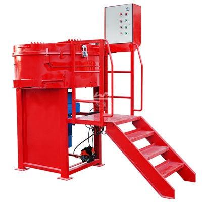 China refractory pan mixer manufacturer