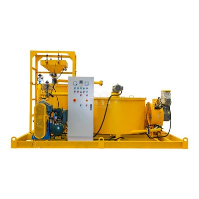 automatic operation of grout station