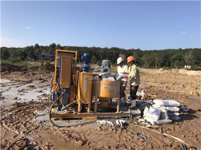 Cement Grout Pump Plant under construction
