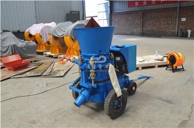 Steel plant used refractory gunning machine