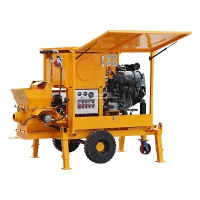 Diesel Powered Concrete Pump
