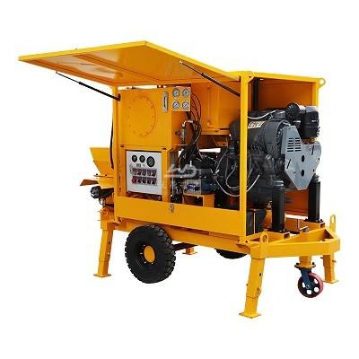 Diesel Powered Concrete Mixer