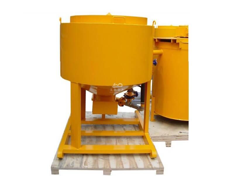 cement mixer and agitator