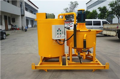 grout mixer machine