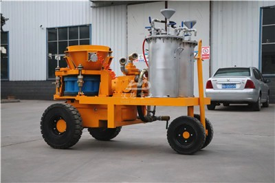 wet shotcrete machine for South Africa