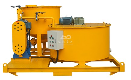 high output colloidal grout mixer