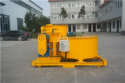 Industrial grout mixer and agitator