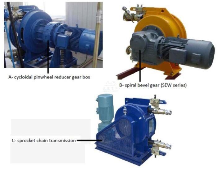 foam concrete peristaltic pump