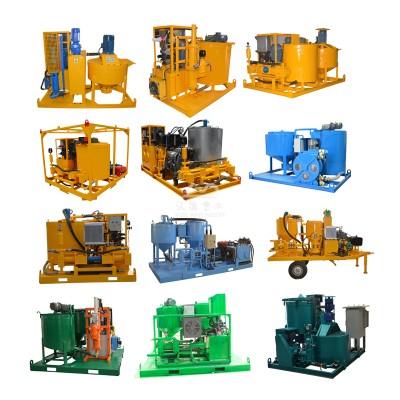 grouting mixer machines