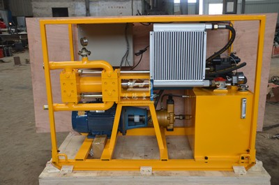 high pressure grout pump