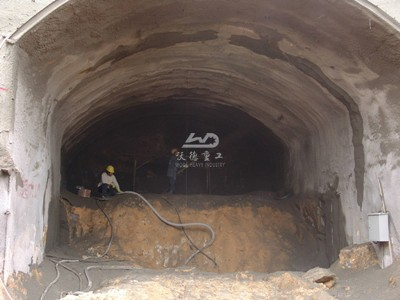 shotcrete machine used for tunnel