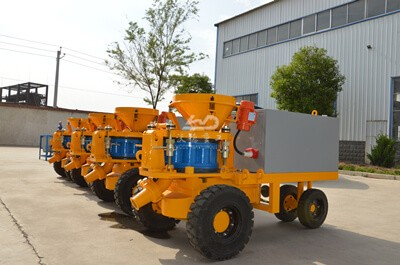 tunnel shotcrete machine