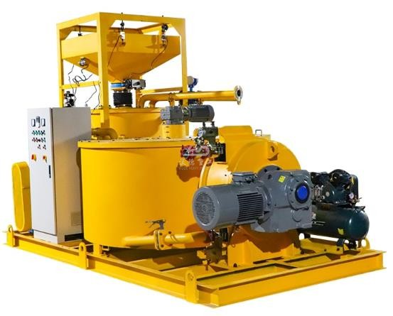 grout mixing machine for grouting lean concrete