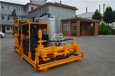grout plant used for filling