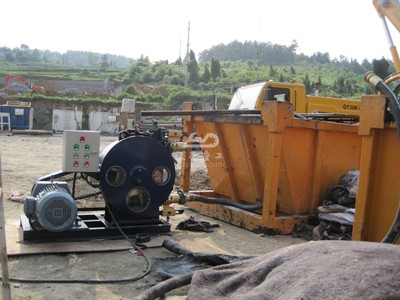 peristaltic pump for foam concrete