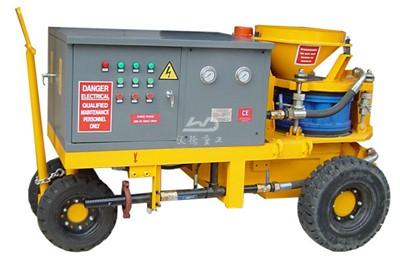 China shotcrete machine manufacturers