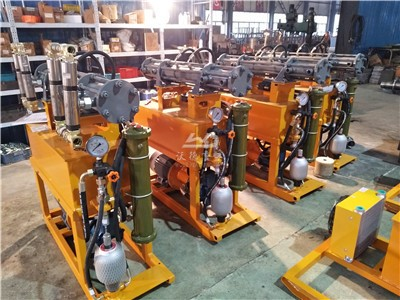 cement grout pump in factory
