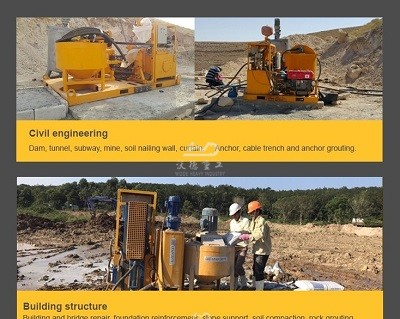 cement grouting pump for soil stabilization,grouting pump