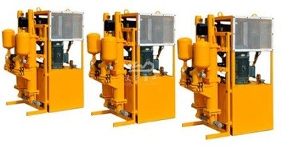 DOUBLE-PLUNGER HYDRAULIC GROUT PUMP