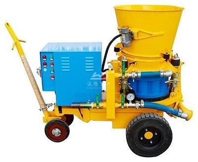 Refractory cement mortar shotcrete machine for sale