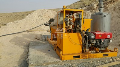 grout plant for hydropower plant