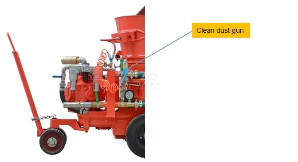 Clean dust gun