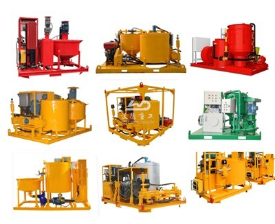 grout injection machine for soil stabilization