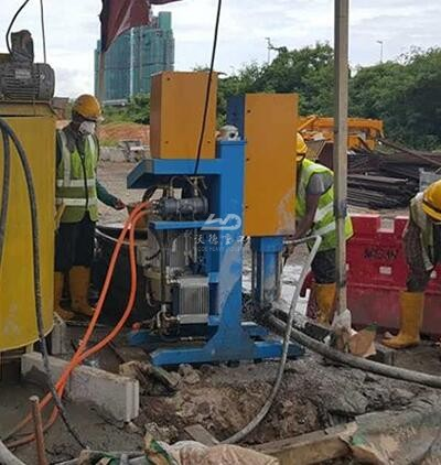 Injection grouting pump for sale