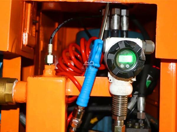 details of wet & dry type rotary shotcrete pump