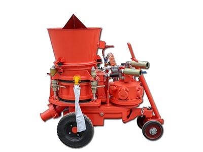 dry spraying refractory gunite machine