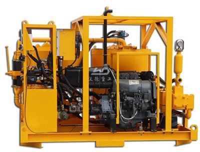 skid mounted grout plant for sale