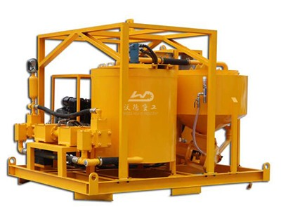 skid mounted grout plant supplier