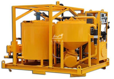 skid mounted grout plant manufacturer