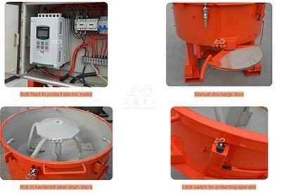refractory pan mixer in Malaysia