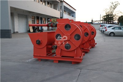 peristaltic hose pump for wastewater treatment